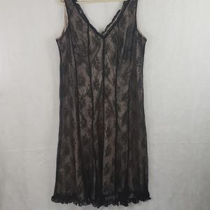 Plus size JONATHON MARTIN black lace dress 20W
